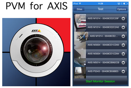 PVM for AXIS iOS app gives optimised Public View Monitor Performance