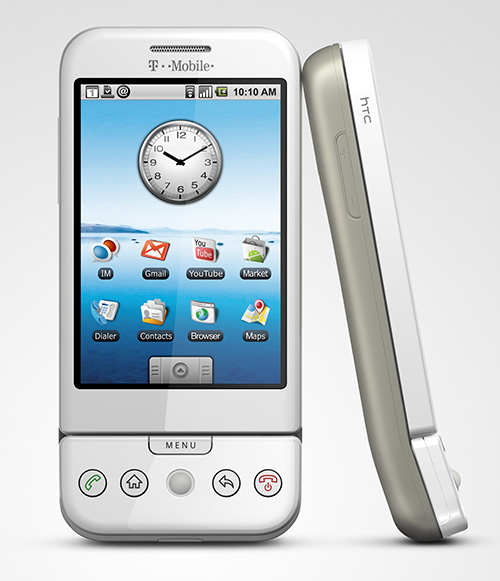 Android 1.0. HTC Dream - 2008